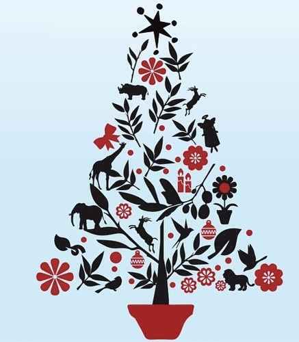 african-christmas-tree-vinyl-stickers