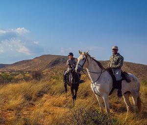 Tswalu horseriding